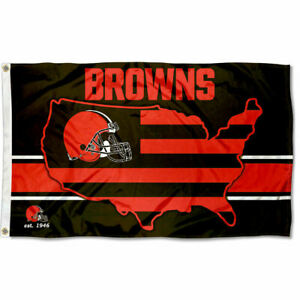 3x5 Foot Cleveland Browns USA Country Flag