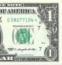 """1963 $1 CHICAGO """" STAR """" ⭐️ FRN, CRISP & UNCIRCULATED BANKNOTE"""