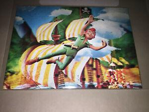 Walt Disney Lenticular Hologram Peter Pan Postcard 1966 Unused