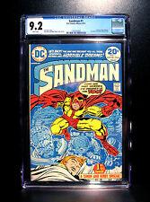 COMICS: DC: The Sandman #1 (1974), 1st Bronze Age Sandman app - CGC 9.2