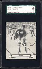 1936-37 V304 O-Pee-Chee Series D #101 Syl Apps (HOF) Rookie Card SGC 96+ MINT