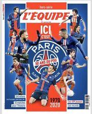 L'EQUIPE «ICI C'EST PARIS «Journal 50 Ans Du PSG Hors Serie Neymar Mbappe Rai