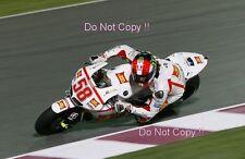 Marco Simoncelli San Carlo Honda Gresini Moto GP Quatar Test 2011 Photograph 1