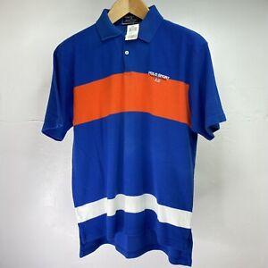 Polo Sport Ralph Lauren Vintage S/S Shirt Size Large Blue NWT