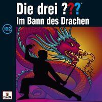 DIE DREI ??? - FOLGE 192: IM BANN DES DRACHEN   CD NEU