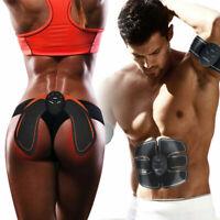 Electric Abs Fat Burner Kit Smart Muscle Toner Toning Belt Simulation Machine