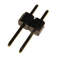 50 W+P Stiftleisten 2,54mm gerade 1-reihig 2-pol Pfostenverbinder Jumper 074107