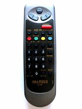 MATSUI TV REMOTE CONTROL RC40T for 2114IT