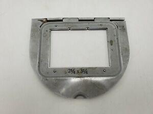 "Kodak 2 1/4"" x 3 1/4"" Glassless Negative Carrier A for Precision Enlarger"