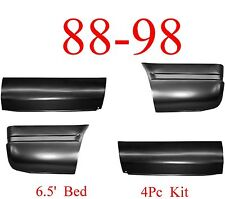 88 98 Chevy 4Pc 6.5FT Lower Bed Patch Kit , Rust Reapir, Chevy GMC Truck