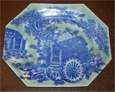 Japanese Porcelain 18th Century Blue & White Landscape Platter