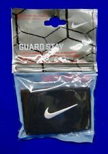 Nip Nike One Pair Guard Stay Black Stretch Bands for Securing Shinguards Soccer
