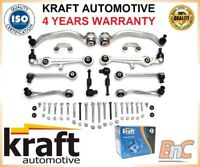 16mm CONTROL ARMS SET KIT Audi A4 B6 8E B7 Seat EXEO LIFT SUSPENSION WISHBONE