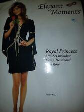 Elegant Moments Royal Princess Costume 3pcs Costume Medium