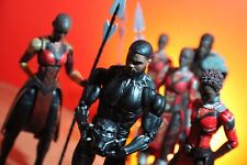 Marvel Legends Black Panther Okoye Build-A-Figure BAF Complete