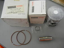 NOS Yamaha Piston Kit 2nd 1980-1982 YT125 G YT125H YT125J 3X3-11630-20-00