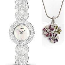 Sekonda Seksy Elegance SWAROVSKI® ELEMENTS Ladies Watch 4851 + Free Pendant Gift
