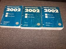 2002 Chevy Blazer SUV & S10 Truck Shop Service Repair Manual Book Set Vol 1-3