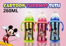 Baby Thermal Auto Warmer Milk Bottle 260ml Stainless Steel Thermos Vacuum Flask