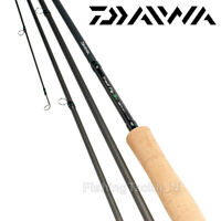 Daiwa D Trout S4 S6 Fly Rods 4 or 6pc Fishing Rod Game - All Sizes Available