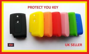 Toyota Remote Key Cover Yaris Prius Corolla Verso Fob 2 Buttons Keyless Case 4
