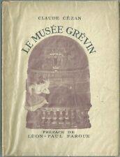 Cézan 1947 Le musée Grévin LP Fargue musée de cire