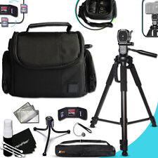 "Well Padded CASE / BAG + 60"" inch TRIPOD + MORE f/ SONY Alpha SLT-A77"