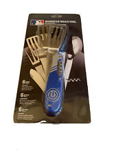 NEW Official MLB Chicago Cubs Baseball Barbecue 6 Piece Multi Tool BBQ