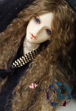 Bjd Doll Wig 1/3 8-9 Dal Pullip AOD DZ AE SD DOD LUTS Dollfie brown Toy Hair
