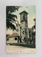 Congregational Church Hinsdale Illinois Vintage Postcard 1912