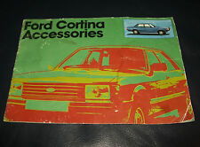 🚗Ford : Cortina Accessories Booklet : Dated 1979