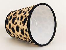 Lampenschirm Flippig  Aufsteckschirm Leoparden Look Afrikanischer Stil Leo #1
