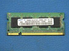 Samsung DDR2 256MB SO-DIMM RAM PC2-4200S-444-12-C3