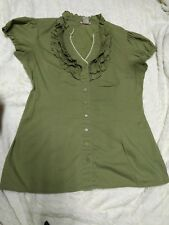 Women's Light Forest color Top size medium