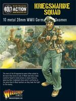 Warlord Games Bolt Action German 28mm Kriegsmarine Squad SW