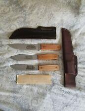cold steel carbon V Hudson Bay Red River Knives NOS!
