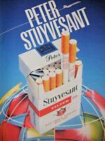 PUBLICITÉ DE PRESSE 1984 PETER STUYVESANT FILTER RICH CHOICE TABBACCOS