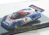 1/43 Q-MODEL NISSAN R89C #25 QMC-003 Le Mans Diecast Metal Model (No box)