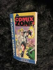 Color Custom Manual COMIX ZONE SEGA Mega Drive PAL Version - AAA+++