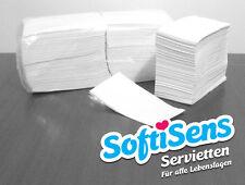 10.000 Prägeservietten, Papierservietten, hochwei�Ÿ, 1-lagig, 1/8 Falz, 33x33cm