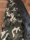 K9 Camo Dog Car Back Seat Cover Camouflage Travel Accessories Preowned Unused
