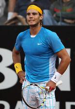 Nwt Nike Rafa Nadal 2010 Rome Rush & Crush Victory Tennis Shirt 373615-481 Med