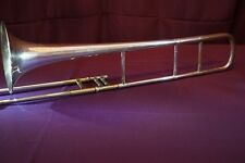 1918 Silverplate JW York and Sons, Grand Rapids Mich-Professional Tenor Trombone