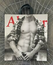 ~RARE~Vintage ABERCROMBIE&FITCH SEXY MAN Model LARGE Store SHOPPING GIFT BAG~New