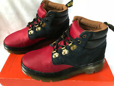Dr. Martens Rakim Hiker Nylon Suede High Top Comfort Shoes Boots Women's 6 new