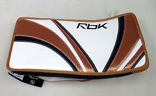 New Reebok Premier Pro intermediate ice hockey goalie blocker glove reg copper