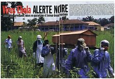 COUPURE DE PRESSE CLIPPING 1995 On parlé déja du virus 'EBOLA  (6 pages)