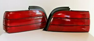 Tail Lights BMW E36 Coupe Convertible OEM Euro Rear Set All red Tinted 1992-1999