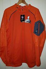 Nike Platinum Fly Rush 2.0 NFL Super Bowl Jersey Jacket: XL (NWT) 704133-820