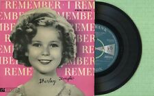 SHIRLEY TEMPLE Oh My Goodness TOP RANK JKR-8003 Pressing England 1959 EP EX
